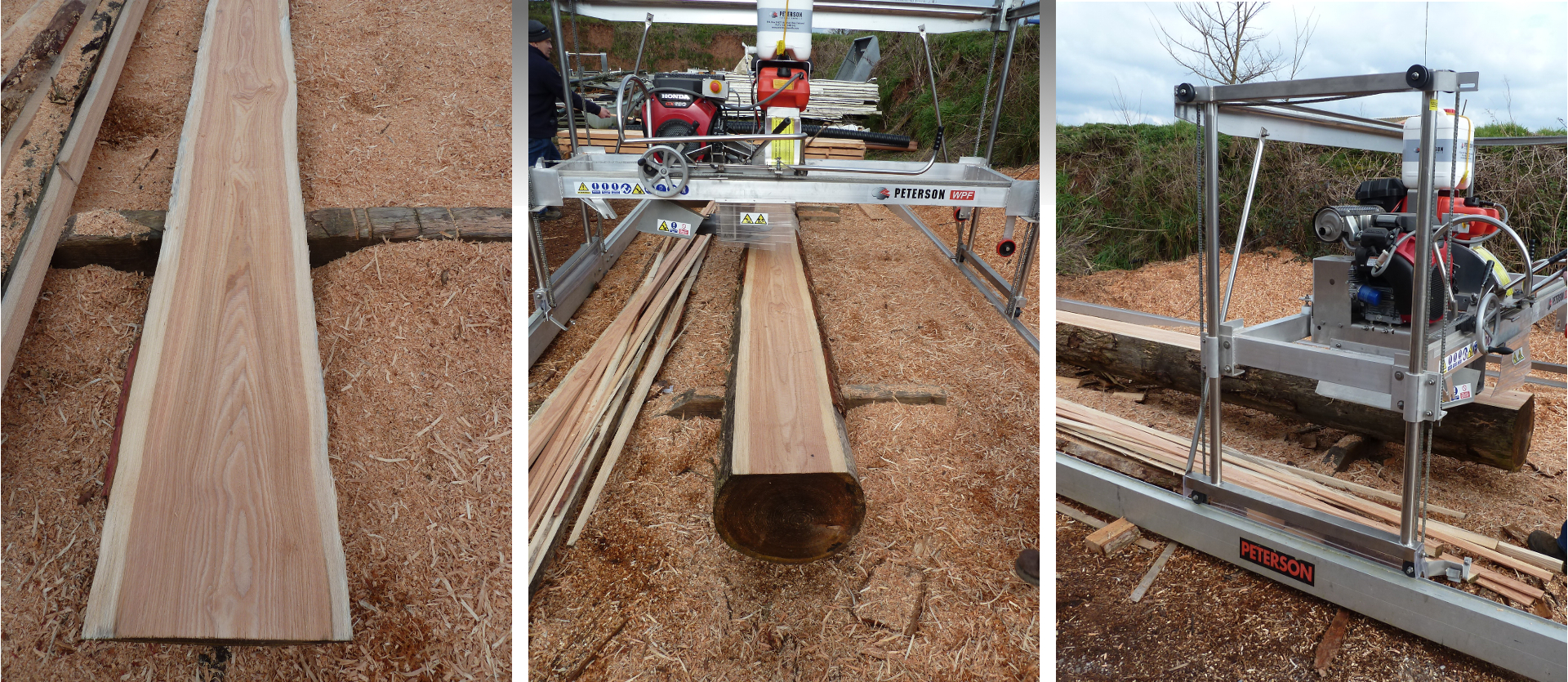 Mobile Saw Milling of Timber